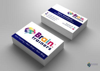 Visitekaart Brain Trainers