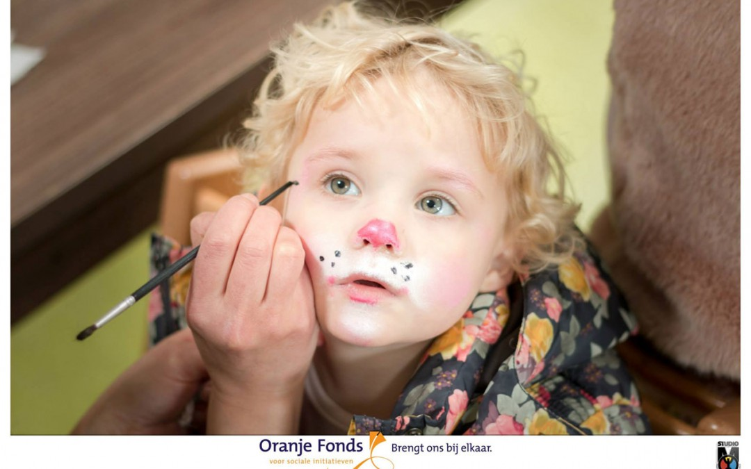 Oranjefonds & Middin fotoshoot