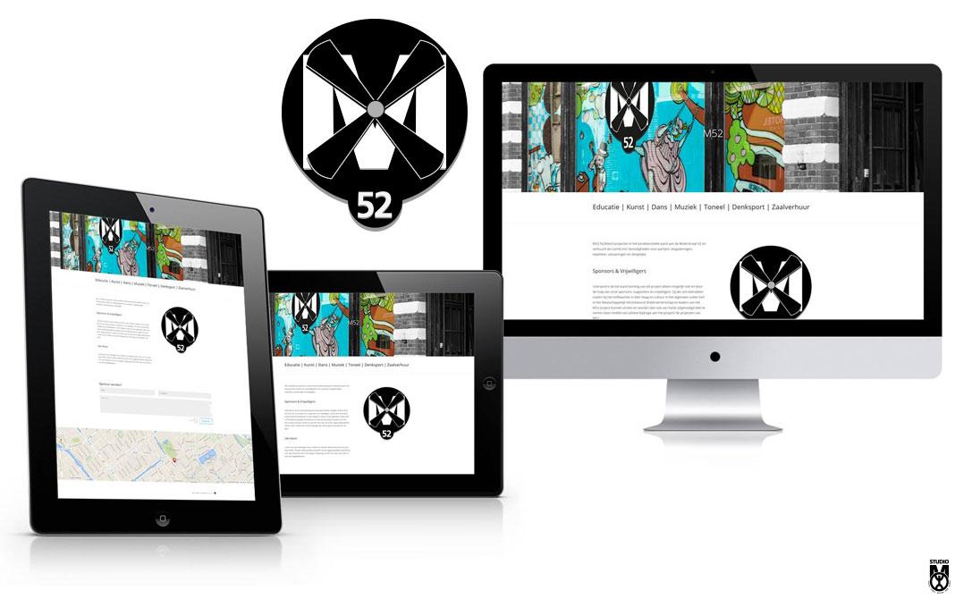 Logo en huisstijl voor M52
