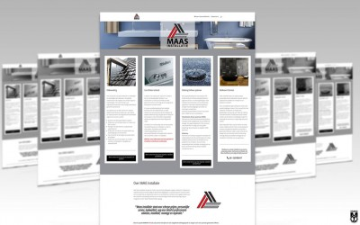 Huisstijl & Website MAAS installatieservice