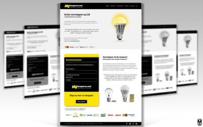 Huisstijl en website voor Nu besparen