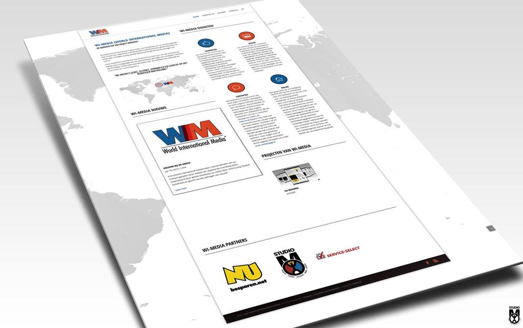 WI-Media, Logo en Website