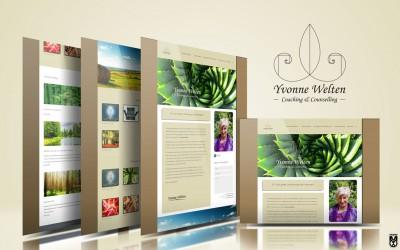 Logo & Website voor Yvonne Welten Consultancy