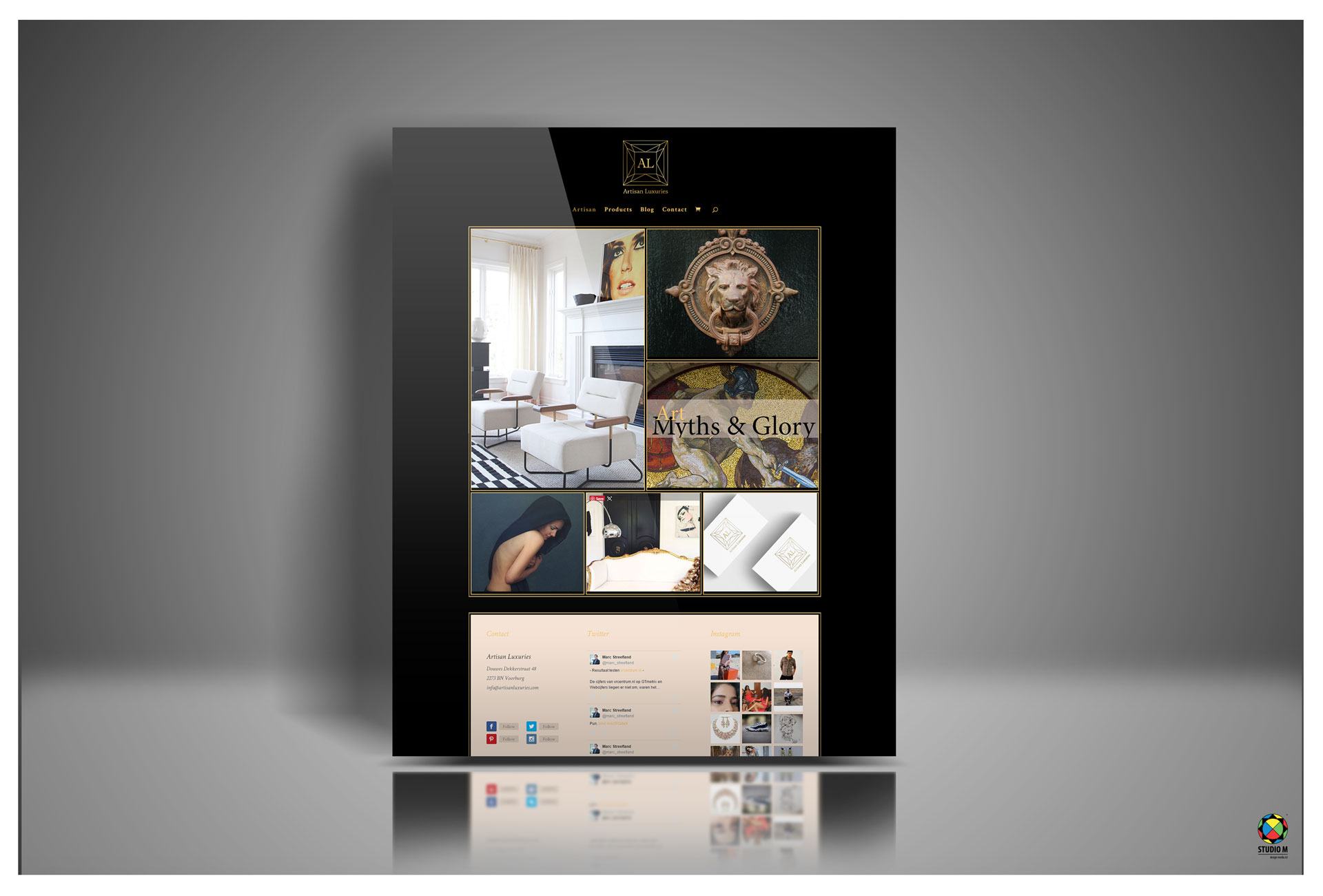 artisan-website